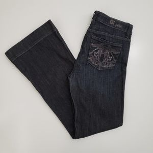 Kut from the Kloth Embroidered Jeans Womens 6